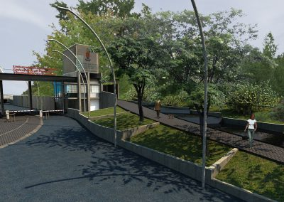 entrance model