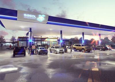 Sasol Fuel Station
