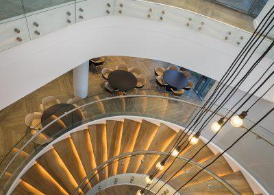 Ecobank interior