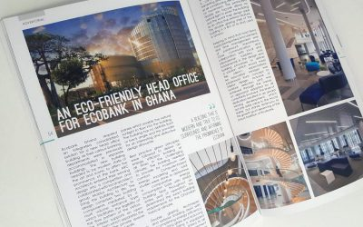 Ecobank Ghana hot off the press